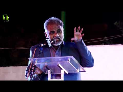 [Speech] Tahafuz-e-Namoos-e-Imam Mehdi (as) Conference   Janab Sohail Ahmed - Urdu