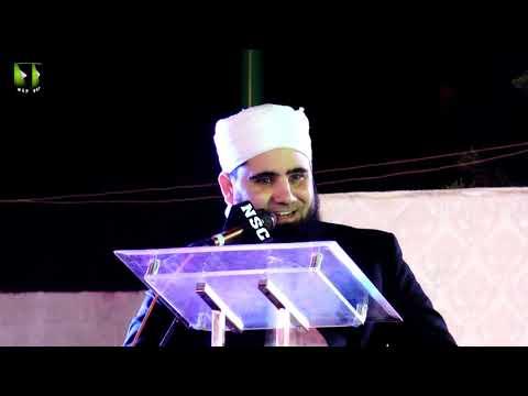 [Speech] Tahafuz-e-Namoos-e-Imam Mehdi (as) Conference   Janab Azad Jamel - Urdu