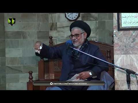 [04]Maqam o Manzilat e Dukhtar e Rasool(s.a.w.w)    مولانا سیّد حسن ظفر نقوی   Urdu