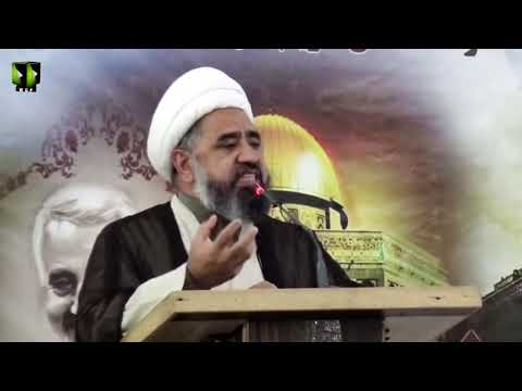 [Seminar] Takreem Shohada Maqawamat Wa Muhafizaan e Hareem e Alaybait (as) | H.I Amin Shaheedi - Urdu
