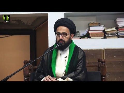 [Majlis] Topic: Quran o Ahlebait (as) Ke Nigah May Dosti Kay Usool | H.I Sadiq Raza Taqvi - Urdu