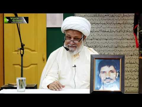 [03] Dars-e-Ikhlaaq   درس اخلاق   H.I Ghulam Abbas Raesi   04 March 2020 - Urdu