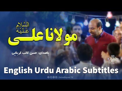 مولانا علی - حسن کاتب | Farsi Arabic sub English Urdu