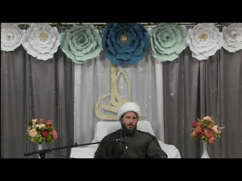Celebration of the birth of Imam Ali (as) speeach by shaykh Hamza Sodagar part 1 - English
