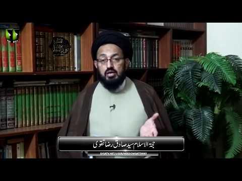 Ayatullah Jawadi Amoli Kay Paigham Ka Tarjuma | H.I Sadiq Raza Taqvi - Urdu