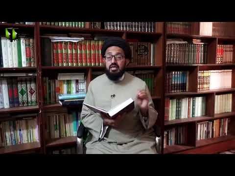 [Lecture 8] Tafsir-e-Mozuee | Hidayat Dar Quran | | H.I Sadiq Raza Taqvi - Urdu