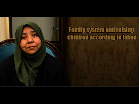 Family system and raising children according to Islam | Class 3 | Khanam Sakina Mahdavi - Urdu