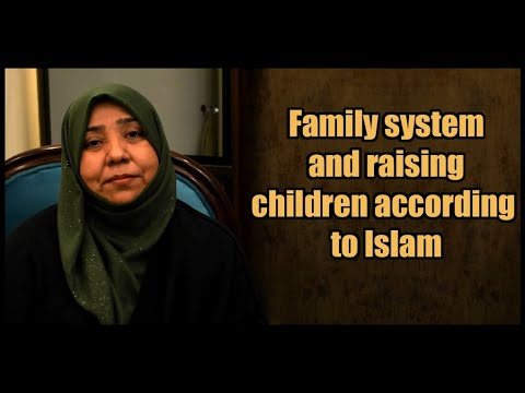 Family system and raising children according to Islam | Class 5 | Part 2 | Khanam Sakina Mahdavi - Urdu