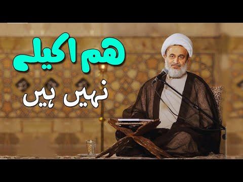 [Clip] Ham akely nahi hai | Agha Ali Reza Panahian Farsi sub Urdu