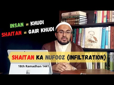 [18] Hazrat Adam (as) - Shaitan Ka Nufooz (Infiltration) - Urdu