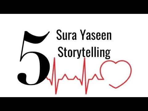 [Storytelling P-V] Surah Yaseen - English