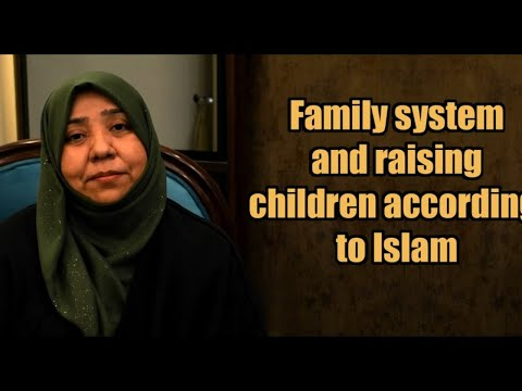 Family system and raising children in Islam | Class 9 | Khanam Sakina Mahdvi | Urdu