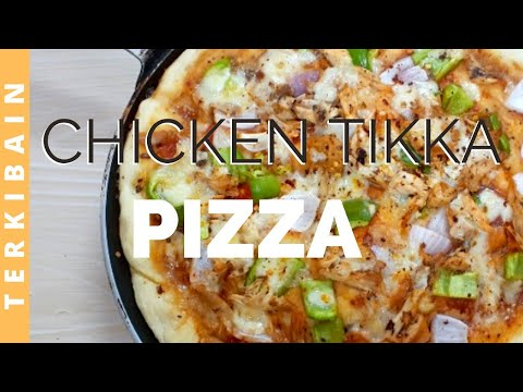 Pizza Recipe | Chicken Tikka Pizza Recipe | Urdu
