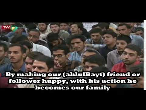 Making the Ahlulbayt Happy | AliReza Panahian | Farsi sub English