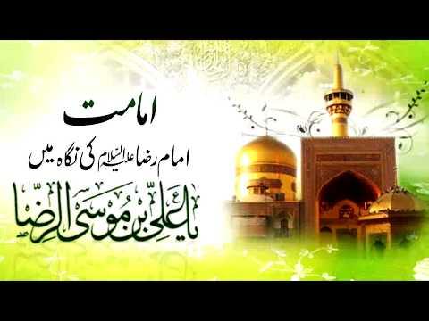 [Clip] Imamat, Imam Reza (as) Ke Nigah May   Moulana Mubashir Haider Zaidi - Urdu