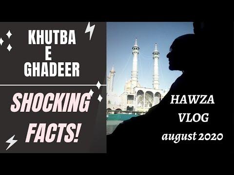 HAWZA Vlogs   Statistical Analysis of Khutba e Ghadeer   SHOCKING FACTS - Urdu