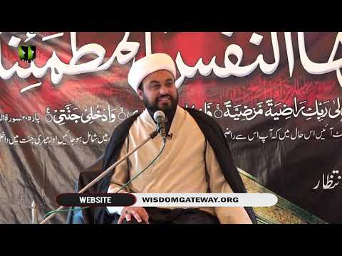 [03] Ashura Aur Intizar | حجۃ الاسلام مولانا محمد علی فضل | Urdu