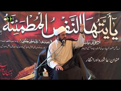 [04] Ashura Aur Intizar | حجۃ الاسلام مولانا محمد علی فضل | Urdu