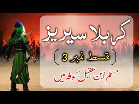 STORY OF KARBALA-Muslim Bin Aqeel in Kufa (3) | داستان کربلا -  مسلم بن عقیل کوفہ می�