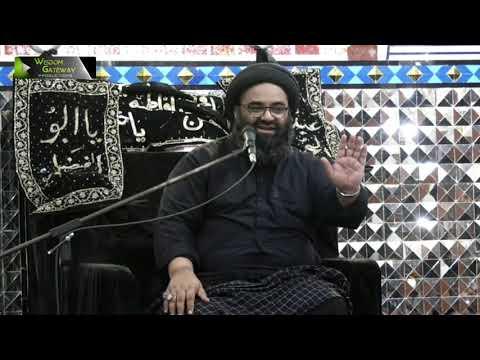 [4] Zikar -e- Elahi Or Ahlay Zikar   H.I Kazim Abbas Naqvi   Muharram 1442   Urdu