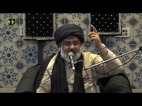 [02] Ista\'anat (Madad)   حجّۃ الاسلام مولانا حسن رضا ہمدانی   Urdu