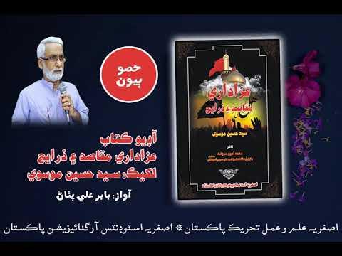 [Audio Book] Azadari Maqasid aen Zarae by Syed Hussain Moosavi | Part2 | Qatlan Hussain Asl ker| - Sindhi
