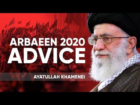 [Clip] Ayatullah Khamenei Arbaeen 2020 Advice | Covid-19 Situation mein Ziyarat e Karbala jana chahiye? Farsi sub Roman