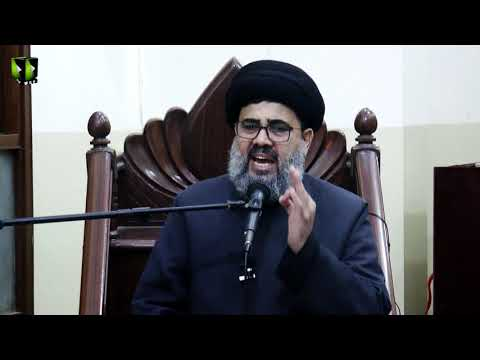 [Majlis -e- Aza]  Shahadat Imam Ali Reza (as) | H.I Ahmed Iqbal Rizvi | 15th Safar 1442 | Urdu