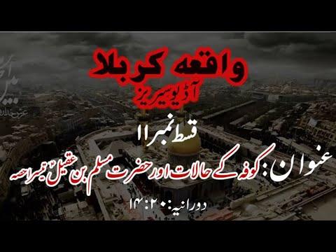 [11]Kufa ke Halaat aur Hazrat Muslim bin Aqeel a.s Part 3 | Maulana Muhammad Nawaz - Urdu