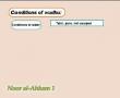 Noor Al-Ahkam - 11 Conditions of Wudhu - English