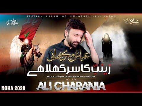 Abbas Meray Bhai Zainab Ka Sar Khula Hai | ALI CHARANIA | Urdu sub English