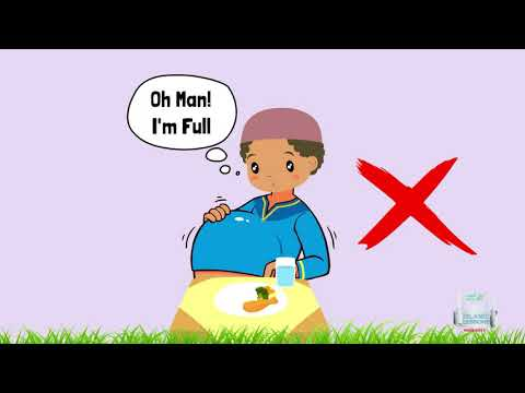 Eating Etiquette in Islam - English