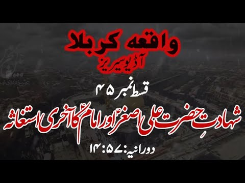 [45]Topic:Shahadat e Hazrat Ali Asghar a.s aur Imam a.s ka Akhiri Istighasa   Maulana M.Nawaz - Urdu