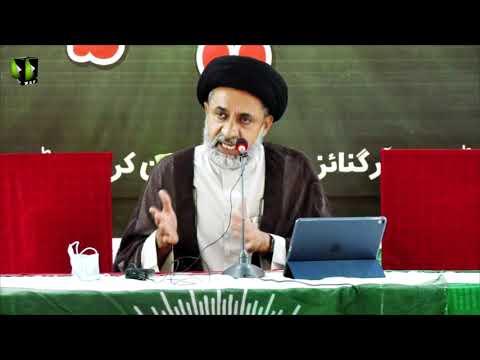 [Speech] Jashan Sadiqain (as) | Himayat -e- Mazlomeen -e- Jahan  Convention | H.I Haider Naqvi | Urdu