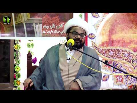 [Speech] Jashan Wiladat Imam Hasan Askari (as) | H.I Muhammad Raza Dawoodani | Urdu