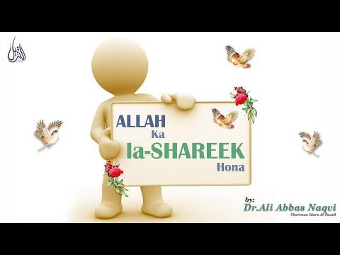 018   Hifz e Mozoee I Allah k Shareek, Madadgar aur Aulad Ki Nafi   Dr Syed Ali Abbas Naqvi   Urdu