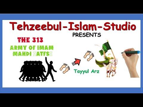 The Army of Imam Mahdi ajtf   313?   Imam mahdi   Companions of Mahdi  Whiteboard Animation