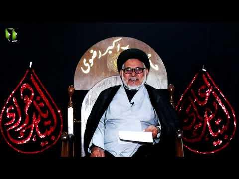 [3] Fatima Zehra (sa) , Masomeen (as) Ke Nigah May | H.I Hasan Zafar Naqvi | Ayaam-e-Fatimiya 1442 | Urd