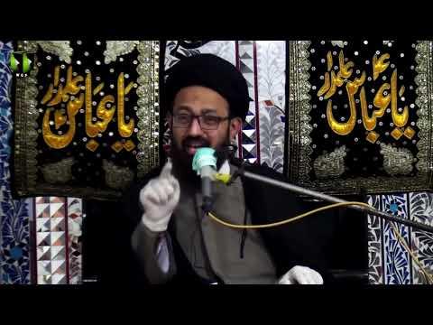 [Majlis] Topic: Insani Zindagi Or Naimaton Ka Shukar | H.I Sadiq Raza Taqvi | Urdu