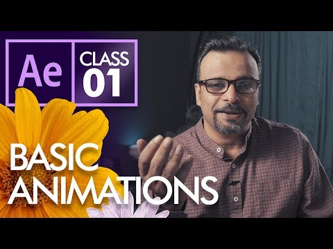 Basic Animations in After Effects Class 1 - Urdu Hindi