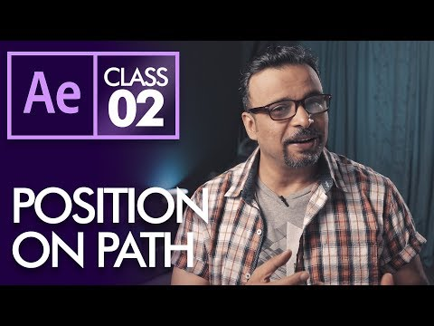 Position Path in After Effects Class 2  - Urdu Hindi