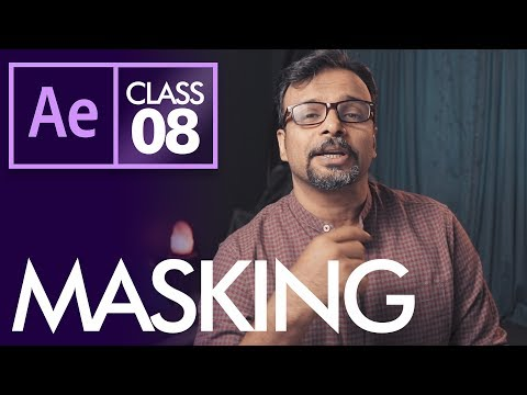 Masking in After Effects Class 8 - اردو /  हिंदी