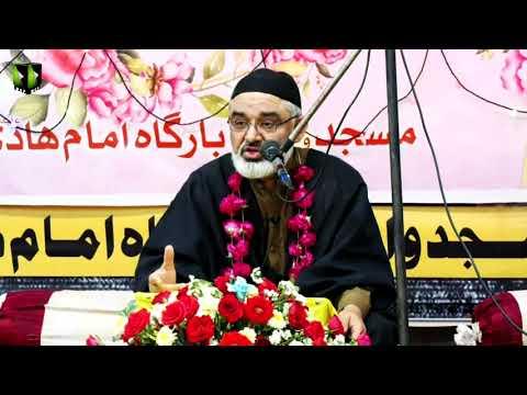 [Speech] Jashan Wiladat Imam Hussain (as)   H.I Syed Ali Murtaza Zaidi   18 March 2021   Urdu