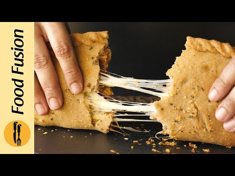 [Quick Recipes] Whole Wheat Pizza Calzone - (Healthy Ramzan Special)- English Urdu