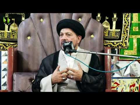 [Speech] Majlis -e- Barsi Imam Khomeini   Moulana Baqir Zaidi   11 June 2021   Urdu