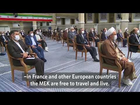 The appalling brazenness of Western governments in terms of human rights   Imam Khamenei - Farsi Subs Eng