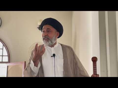 Khutba-e-Namaz-e-Jummah   2 July 2021   Masjid-e-Yasrib DHA Karachi   Syed Muhammad Haider Naqvi   Urdu