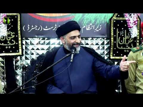 Majlis -e- Aza   H.I Nusrat Abbas Bukhari   21st Muharram 1443/2021   Urdu