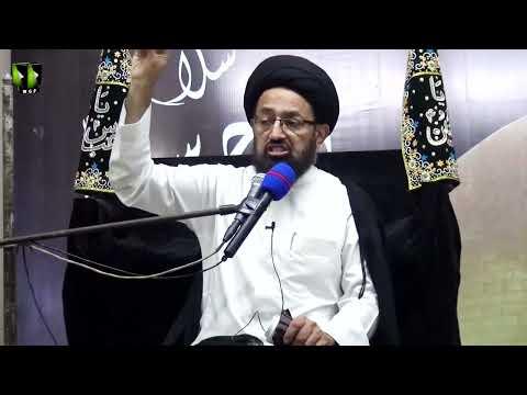 Majlis -e- Aza   Topic: Aakhir uz Zaman Or Tableegh -e- Haq   H.I Sadiq Raza Taqvi   28 Muharram 1443   Urdu