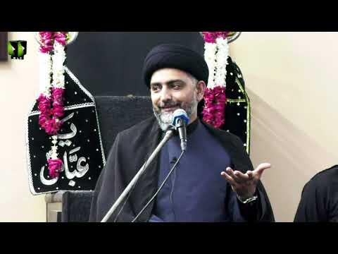 Majlis -e- Aza   H.I Nusrat Abbas Bukhari   25th Muharram 1443/2021   Urdu